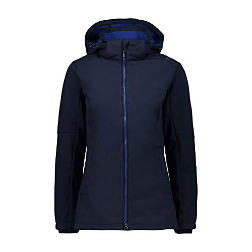 CMP Damen Softshell Jacke 3A22226, B.Blue-Marine, 44
