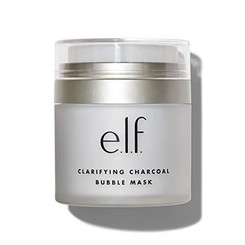 e.l.f. CosmeticsClarifying Charcoal Bubble Mask, Gel to Mask Formula, 1.76 Ounce
