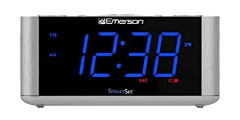 Emerson SmartSet Alarm Clock Radio USB port for iPhone/iPad/iPod/Android and Tablets CKS1708