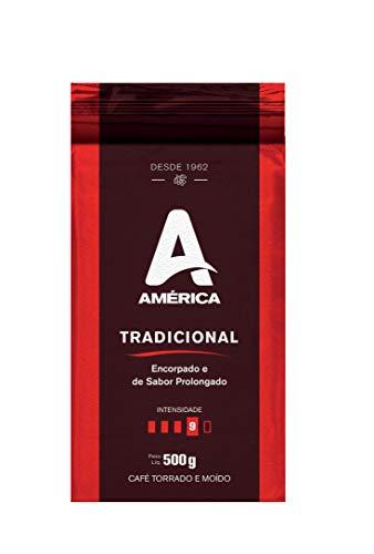 Café Torrado e Moído América Clássico - Alto Vácuo 500g