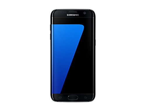 """Samsung Galaxy S7 Edge Smartphone, Schermo 5.5"""" Dual edge Quad HD Super AMOLED , 32 GB Espandibili, Nero [Versione Italiana]"""