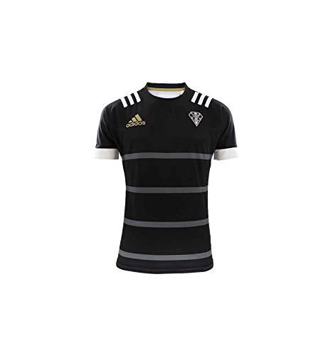 adidas Cab Home Jersey T-Shirt, Hombre, Black/Grey Four f17, L