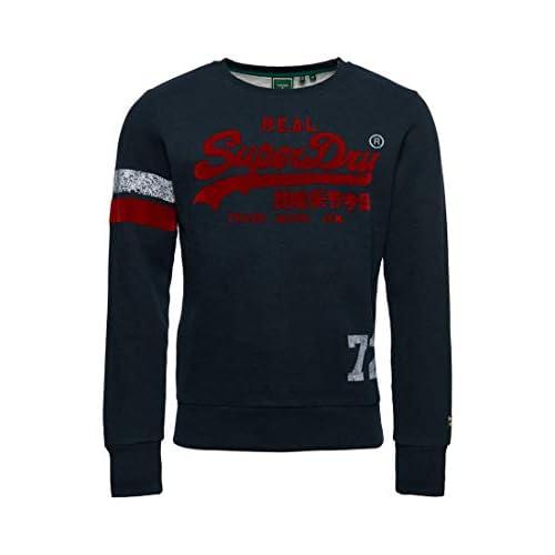 Superdry Men's Vl Varsity Crew Sweater