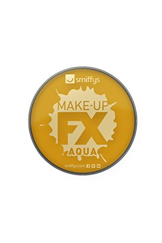 Smiffy\'s 39143 Make-up FX, Metallic Gold Aqua Face und Body Paint