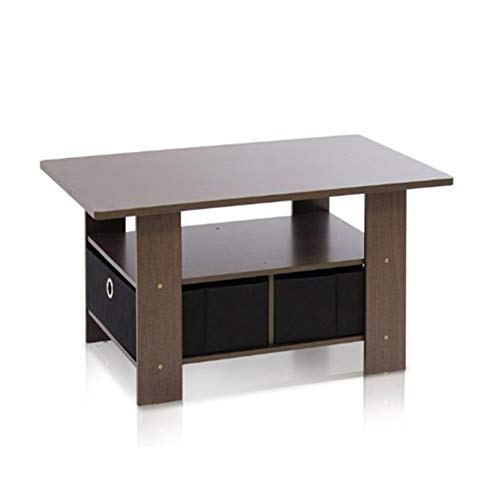 ZXMDP Ready Assembled Furniture Coffee Table Set White Nest Of Tables Living Room Small Oak Solid Low Chest Drawers Dark Wood Side Lift Top Grey for Gloss Tablesiving Foldable Sewing Spaces Bedroom