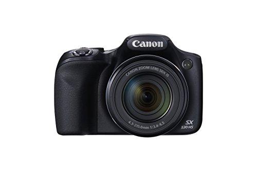 Canon PowerShot SX530 Digital Camera w/ 50X Optical Zoom - Wi-Fi & NFC Enabled...