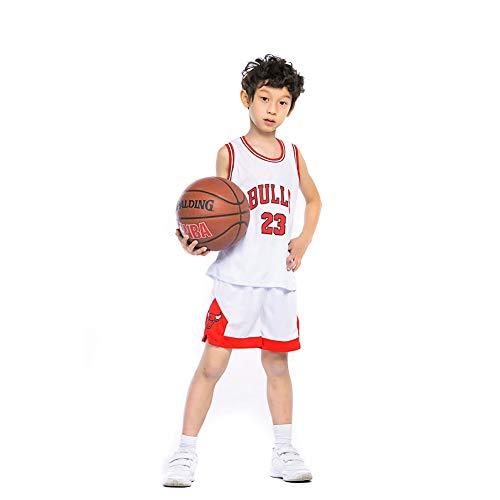 KSWX Camiseta de Baloncesto Niño Bulls 23 Michael Jordan Traje De Entrenamiento De...