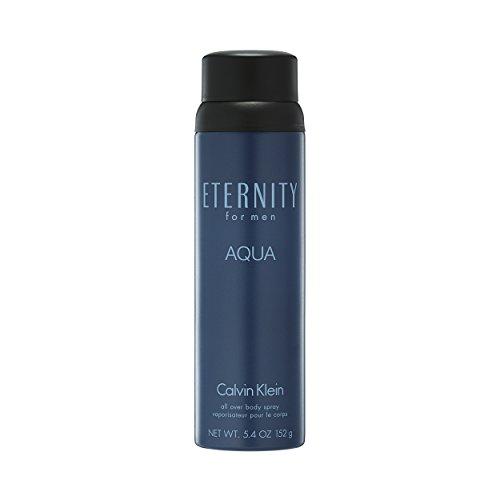 Calvin Klein ETERNITY for Men AQUA Body Spray, 5.4 oz