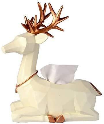 MUZIDP Caja de pañuelos de almacenamiento simple europeo creativo caja de pañuelos mesa de café sala de estar hogar escritorio caja de papel caja de pañuelos