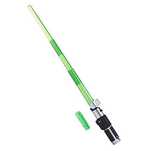 Star Wars - B7254 - Disney Toy - Yoda Elektronisches Lichtschwert - Bladebuilders Jedi Lichtschwert
