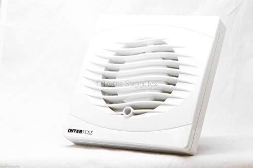 Manrose - Estrattore ventilatore bianco 100 mm, modello timer per bagni e servizi igienici