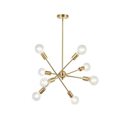TJLSS Lámparas Modernas Simples, Sala de Estar Luces de la habitación, Creativas Estudio Luces, lámparas de Hierro Personalizada Arte
