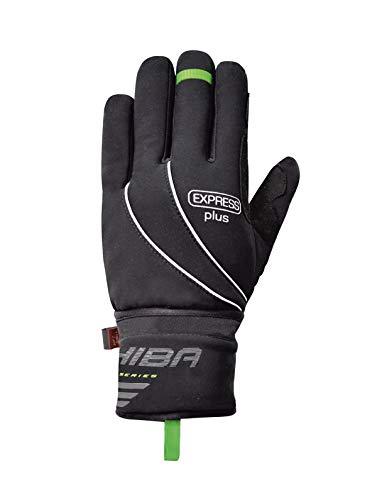 Chiba Express+ Winter Fahrrad Handschuhe mit Regenüberzug schwarz 2017: Größe: L (9)