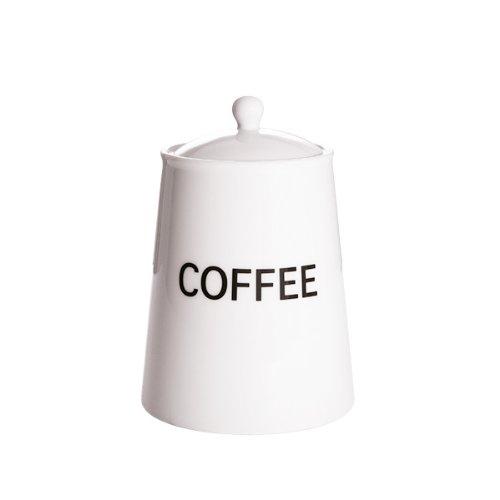 ARCTIC Porcelaine vitrifiée Lot de 2 Pots à café en Blanc