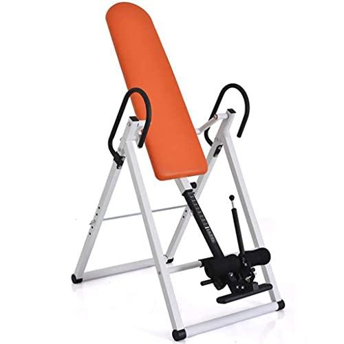 SENWEI Gravity Inversion Table Plegable Back Neck Dolor Ejercicio Terapia Banco
