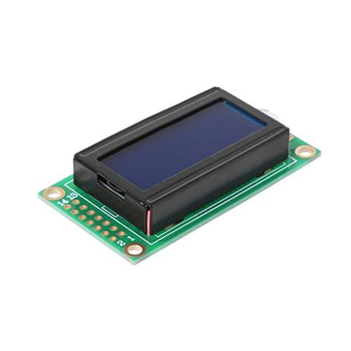 Selma 0802 Módulo LCD 8 x 2 retroiluminación de la Pantalla para Arduino DIY Kit