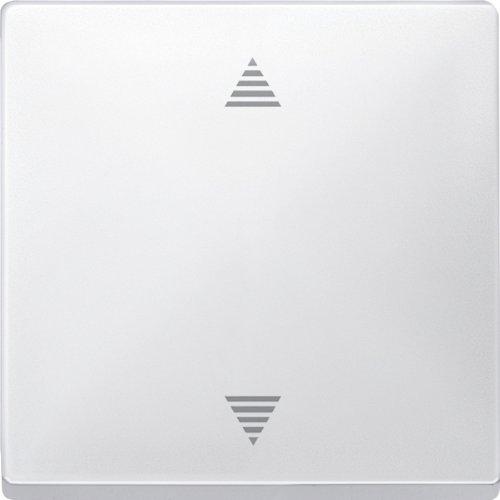 Merten 584319 Jalousie-Taster mit Memory-Funktion und Sensoranschluss, polarweiß, Sys. Fläche
