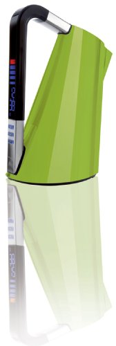 BUGATTI 14-VERACM Casa Wasserkocher Vera, Edelstahl, 1.7 liters, grün