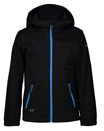 ICEPEAK Softshell-Jacke für Jungen KARS JR, schwarz, 152