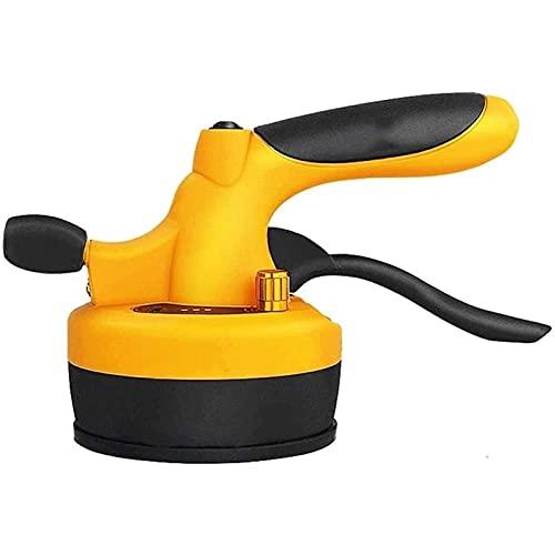 SADWF Herramienta Automática para Colocación de Pisos - Máquina Herramienta Profesional con Ventosa con Ventosa Ajustable, Ventosa Oscilante para Baldosas Y Losas con Caudal