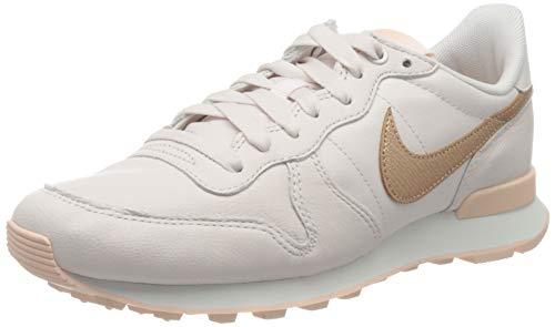 Nike Damen WMNS Internationalist Premium 82840 Leichtathletikschuhe, Mehrfarbig (Light Soft Pink/MTLC Red Bronze 604), 38 EU