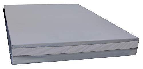 Urine Resistant– Adult Full XL (80' Long) Bed-Wetting Mattress – Soft Vinyl Waterproof Cover – Easy to Clean – Medical Quality Fabric – CertiPUR-US Foam - North America Mattress
