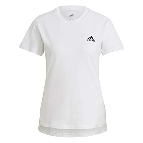 adidas GN8333 W MT T T-Shirt Donna White/Black S