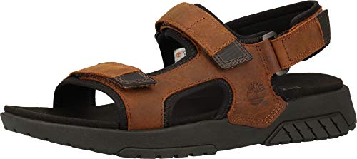 Timberland Herren Anchor Watch Back Strap Sandalen, Md Brown Full Grain, 46 EU