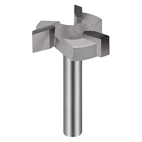 Blanketswarm CNC Spoilboard Oberfläche Fräser Bit 1/4 Zoll Schaft, Flachfräser Fräser Hobelfräser Holzfräser Hobelwerkzeug Holzbearbeitung Werkzeug