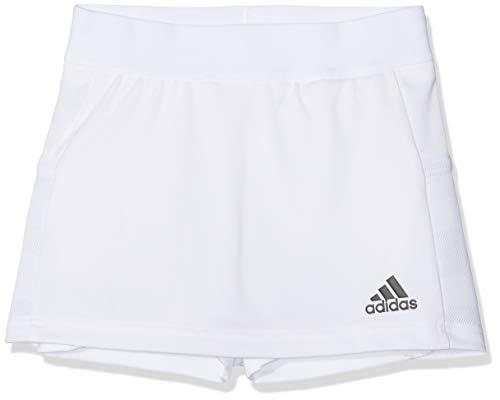 Adidas T19 Skort Y Falda, Niñas, White, 5-6Y
