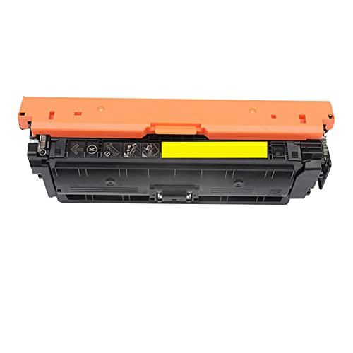AXAX Cartucho de tóner de repuesto para HP 508A CF360A CF361A CF362A CF363A compatible con HP Color Laserjet M552DN M553N M553x M553DN impresora HD, color amarillo