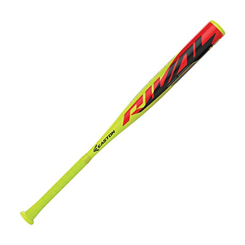 Easton Rival -10 (2 1/4″) USA Youth Baseball Bat | 31 Inch / 21 oz | 2019 | 1 Piece Aluminum | ALX50…