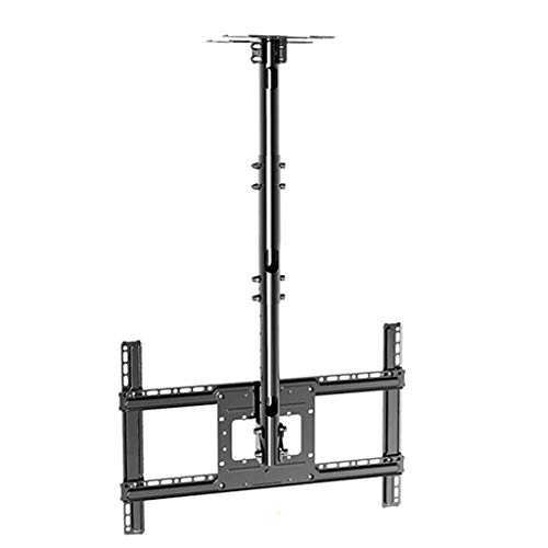 LY TV Deckenrahmen, Einziehbare, Rotierende, Neigungswinkel Einstellbar TV Deckenaufhängung, Befestigbaren Anzeige Wand-, Decken- Rack Länge Bis Zu 1,5 M (32-70 Zoll)