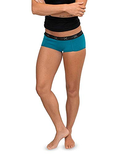 WoolX Lila - Women's Boy Short Underwear - Lightweight & Durable Merino Wool Bottoms