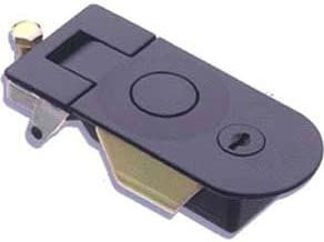 Southco C5-21-35 Black Powder Coated Zinc Alloy Sealed Lever Compression Latch, Adjustable Grip