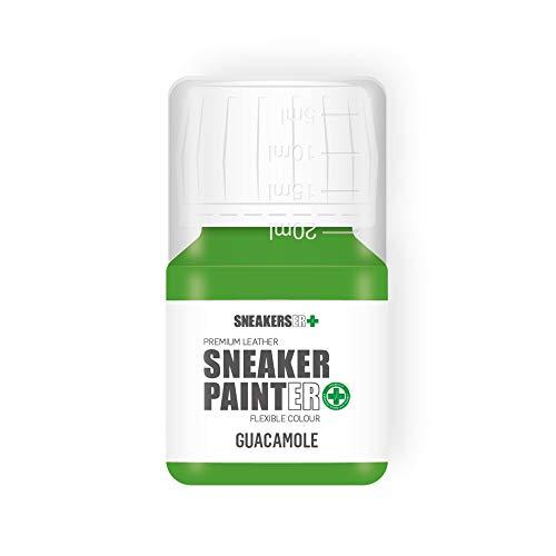 SNEAKERS ER SneakerPainter Premium - Pintura flexible para zapatos de piel (30 ml), color marrón