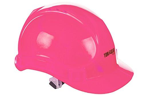 Chapéu infantil rosa duro – idades 2 a 6 – capacete ou fantasia de construção de segurança para crianças