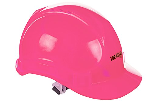 Child's Pink Hard Hat – Ages 2 to 6 – Kids Safety Construction Helmet or Costume