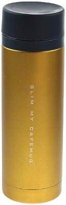 パール金属 マイカフェマグ スリム ダブルステンレスダイレクトマグ 300 オレンジ H-6918
