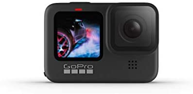 GoPro HERO9 Black — Waterproof Action Camera with Touch Screen 5K Ultra HD Video 20MP Photos 1080p Live Streaming...