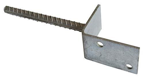 L-Pfostenträger 71 81 91 mm L-Form pfostenfuß mit Steindolle zum Einbetonieren