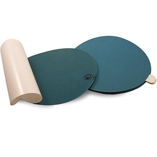 Red Label Abrasives 6 Inch 1000 Grit Adhesive Back (PSA) Film Sanding Discs, 10-Pack
