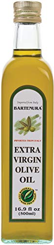 Bartenura Extra Virgin Olive Oil 16.9oz, All Natural, Kosher, Imported from Italy
