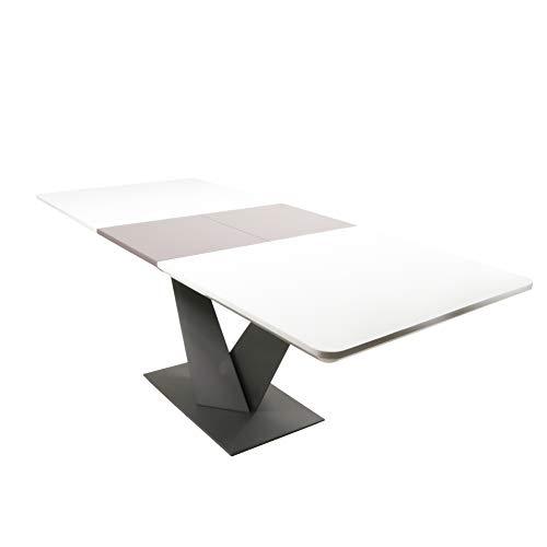 Sedexx Galina Tisch Esszimmer Tisch 160-210/90 cm ausziehbar Ausziehtisch Esstisch Tisch MDF Hochglanz