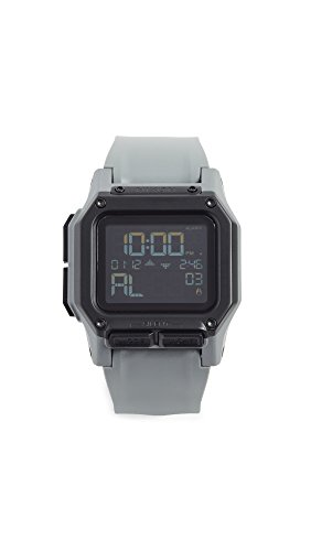 NIXON Regulus A1180 - All Gunmetal - 100m Water Resistant Men's Digital Sport Watch (46mm Watch Face, 29mm-24mm Pu/Rubber/Silicone Band