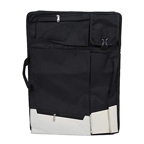 Mochila, Wacent Art Bag 4K Multifunción Dibujo Dibujo Mochila Artista Mochila Herramienta de pintura Bolsas de transporte Colección de manualidades(Negro)
