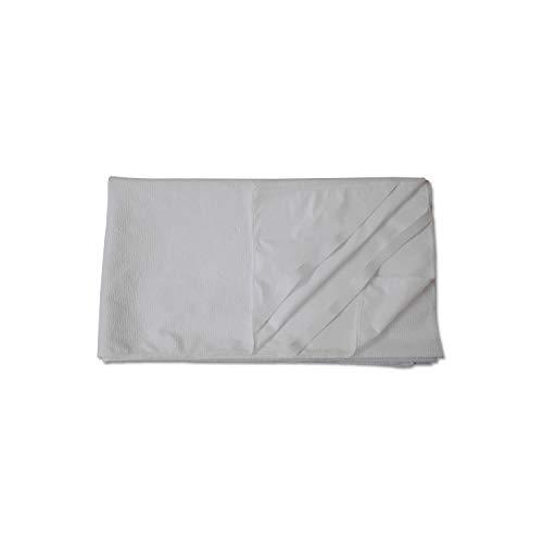 Wolkenwunder Hygieneauflage Matratzenauflage mit Nässeschutz für Kinderbett I 4 Eckgummis I wasserdicht I waschbar I atmungsaktiv 70 x 140 cm