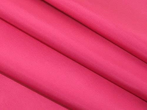 Bini Fabrics Cerise - Tela de tafetán antiestática de alta calidad, color rosa