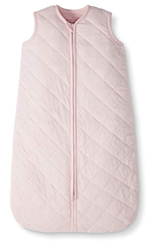 Moon and Back by Hanna Andersson Baby Organic Cotton Wearable Blanket, Pink, 18-24 months