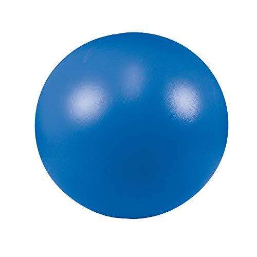 Schecker Treibball blau für Hunde aus hartem Kunststoff 28 cm